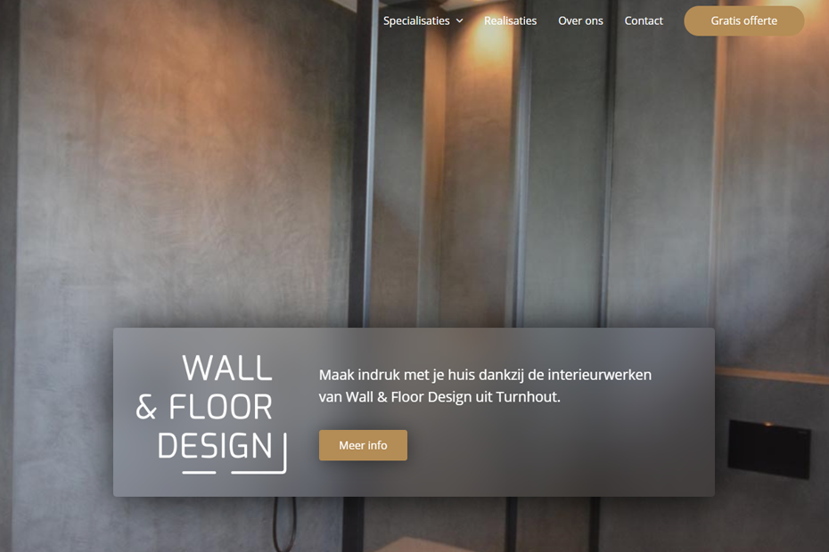 Wall & Floor Design - Interieurwerken Turnhout