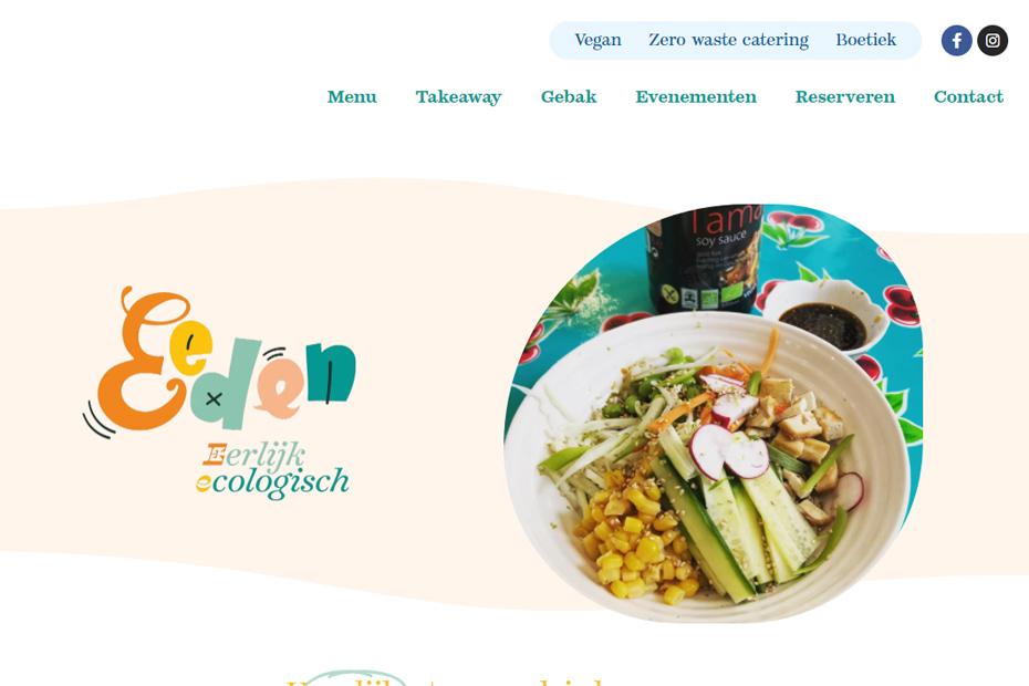 Eeden - Vegan eten in Turnhout