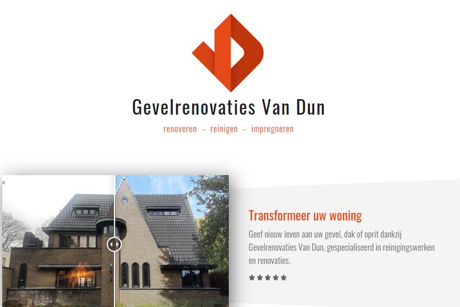 Gevelrenovaties Van Dun - Turnhout